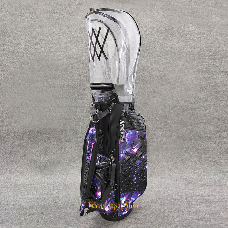 H9b93e440330848efaabc1a331957a12ag Golf Bags ANEW Golf cart bag Waterproof Big Capacity Packages Multi-Pockets Durable Bag Golf Club Equipments 2 Color