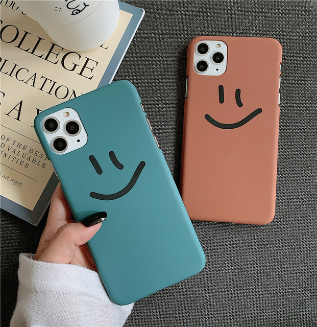Cute Smiley face Painting Phone Case For iphone