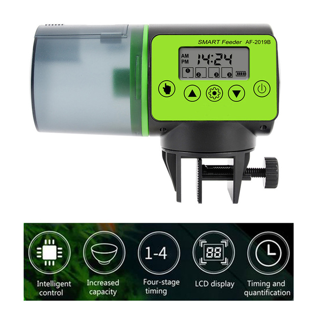 Smart Automatic Fish Food Dispenser with LCD Timer  4