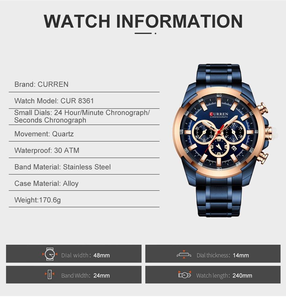 dos homens relógios topo de luxo marca
