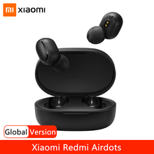 Xiaomi Redmi Airdots 2 TWS True Wireless Earphone Bluetooth Headphones Gaming Headset Stereo Bass With Mic Noise Reduction