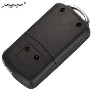 Image 4 - Jingyuqin 20 個 2 ボタン変更されたフリップ車のキーケースのためのC1 C2 C3 xsaraピカソプジョー 206 306 307 407 406