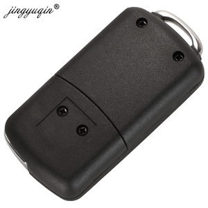 Image 4 - Jingyuqin carcasa de llave de coche con tapa modificada para Citroen C1, C2, C3, Xsara Picasso, Peugeot 206, 306, 307, 407, 406, 2 botones, 20 piezas