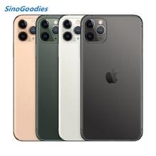 Новая китайская версия, две Sim карты, iPhone 11 pro max 6,5 дюймов OLED Дисплей 4 аппарат не привязан к оператору сотовой связи комплексный широкополосный канал передачи данных камеры смартфона 64/256/512 ГБ Встроенная память A13