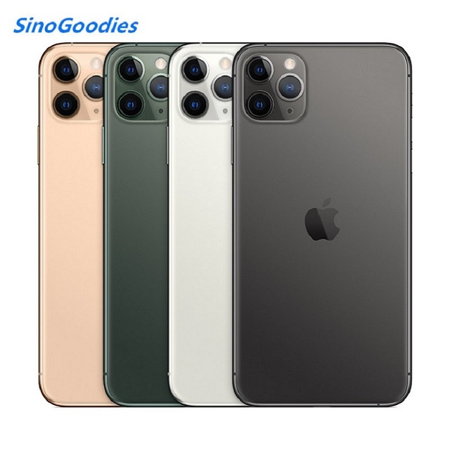 New Chinese Version Dual Sim Card iPhone 11 pro 5.8 inch Full OLED Display 4G LTE Triple-camera Smart Phone 64/256gb ROM A13