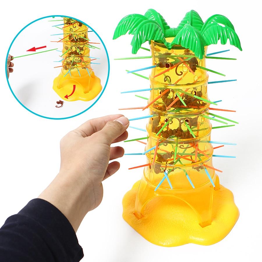 Hot Children's Interesting Intelligence Toys Turn Monkeys Down Monkey Tree Climbing Desktop Game Party Game Funny Toys