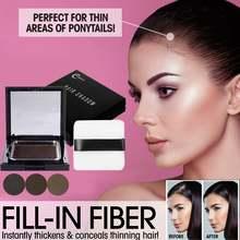 Натуральная краска для волос пудра компактный водостойкий макияж