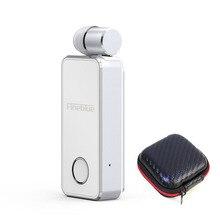 Fineblue F2 Wireless Earphone Clip earbuds Handsfree Bluetooth5.0 Vibrati with Calls Voice Remind
