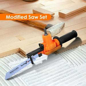 Image 5 - 1/2/5/6pcs Household Reciprocating Saw Electric Drill Woodworking Metal Cutting Tools