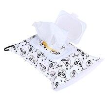 Экологически чистые легко переносные салфетки с защелкой контейнер влажные салфетки сумка раскладушка косметичка клатч и чистые салфетки чехол для переноски