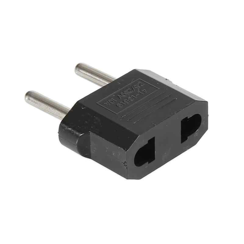 1Pc Ons Euro Conversie Plug Adapter Draagbare Amerikaanse European Travel Adapter Oplader Mug Lamp Lader Licht Accessorie