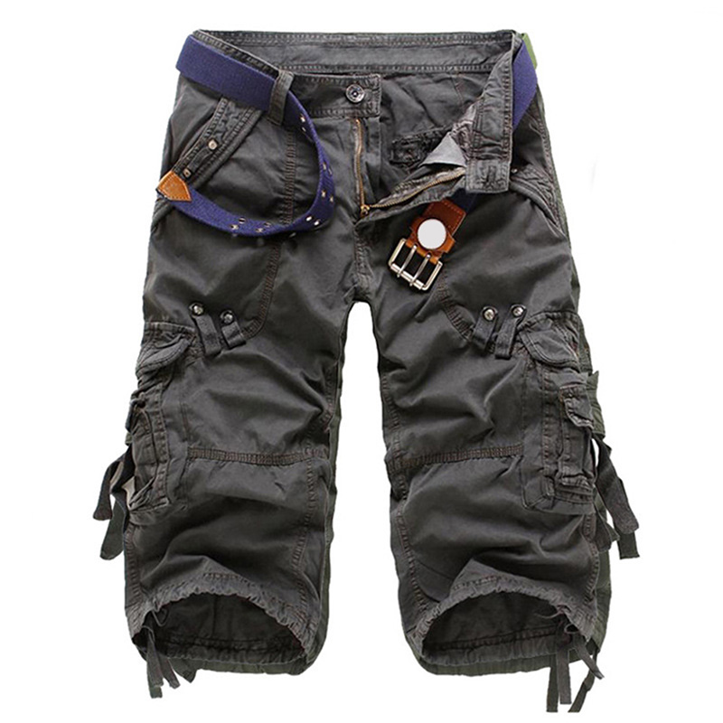 2019 Fashion Hot Sales New Best Selling Men Shorts Summer Combat Army Military Casual Work Cargo Pants With Multi-pockets K2