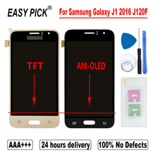 For Samsung Galaxy J1 2016 J120 J120F/DS J120F J120M J120H/DS J120G LCD Display Touch Screen Digitizer Assembly Free Tools