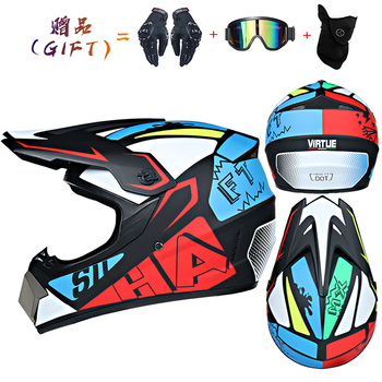Motor Bike Cross Racing Motorcycle Helmet Safety Enduro Capacete Motorrad Cascos Downhill Bicycle Engine Cafe Racer ATV Helmets 26