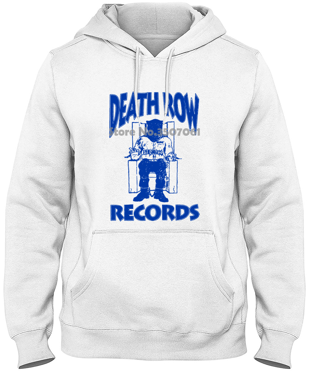Different Colours High Quality Ripple Junction Death Row Records Blue Log Adult  Hoodies & Sweatshirts