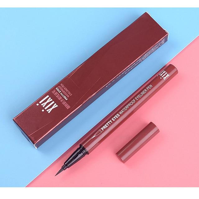 Professional Fast Dry Smooth Waterproof Eyeliner Pencils Eyes Brown Black Color Pigments Liquid Eye Liner Pen Make Up Tools 5