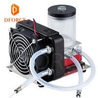 Dforce Titan AQUA Wasser Kühlung Kit für DIY 3D drucker für E3D Hotend Titan Extruder für TEVO 3D drucker Upgrade KIT 3D Druckerteile & Zubehör    -