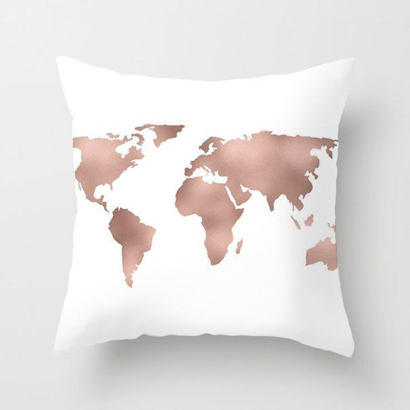 H9b9721e98a2847209dee39ea59dbbe49r New 1PC Popular Cushion Case Geometric Tropic Pineapple Nordic Sofa Pink Pillow Decorative