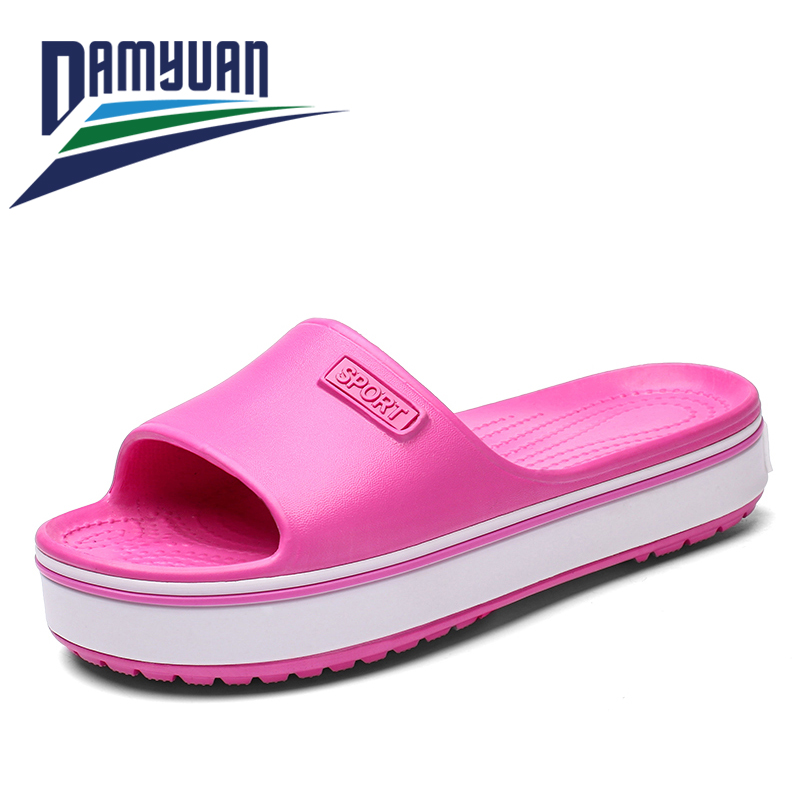damyuan 2020 Women Slippers Fashion Summer lovely Ladies Casual Slip On Beach Flip Flops Slides Woman Indoor Shoes size 36-41
