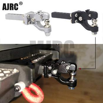 MJRC RC Car Metal Tow Hook Drop Hitch Receiver for 1/10 RC Crawler Traxxas TRX4 Axial SCX10 90046 Upgrade Parts