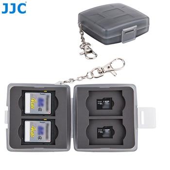 JJC 8 Slots Waterproof Memory Card Case Wallet Holder for 4 SD SDXC SDHC + 4 MSD Micro SD TF Card Storage Box Keeper Organizer