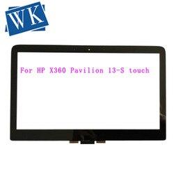 """13.3 """"dla HP X360 Pavilion 13 S Spectre 13 4000 dotykowy Digitizer wymiana w Ekrany LCD do laptopów od Komputer i biuro na"""