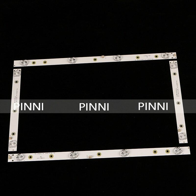32 Inch LED Backlight Strips For AKAI AKTV3221 MS-L0928-L/R 32LED38P 32HD340 Smart JS-D-JP3220-041EC E32F2000 D32-0A35