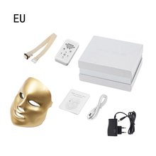 Led Facial Mask Beauty Skin Care Rejuvenation Wrinkle Acne Removal Face Beauty Therapy Whitening Tighten Instrument factory offer mini hifu multifunctional skin care ultrasonic facial beauty instrument facial rejuvenation anti aging wrinkle