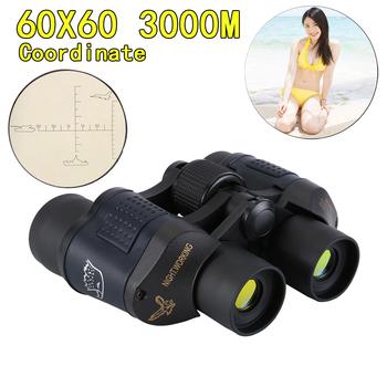 Lornetka o wysokiej rozdzielczości 60X60 HD 10000M duże powiększenie do polowania na zewnątrz lornetki noktowizyjne tanie i dobre opinie LUXUN 60*60