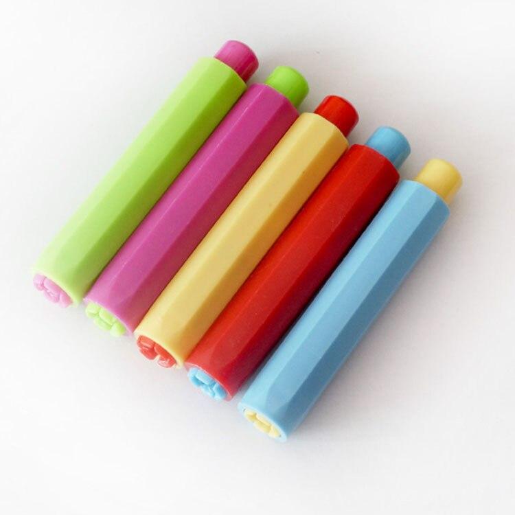 Chalk Cap Dust-Free Chalk Clip Teacher Teaching Chalk Clip Children Good Partner Manufacturers Direct Selling