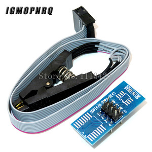 Image 3 - CH341A 24 25 סדרת EEPROM פלאש ה BIOS USB מתכנת מודול + SOIC8 SOP8 מבחן קליפ עבור EEPROM 93CXX / 25CXX / 24CXX