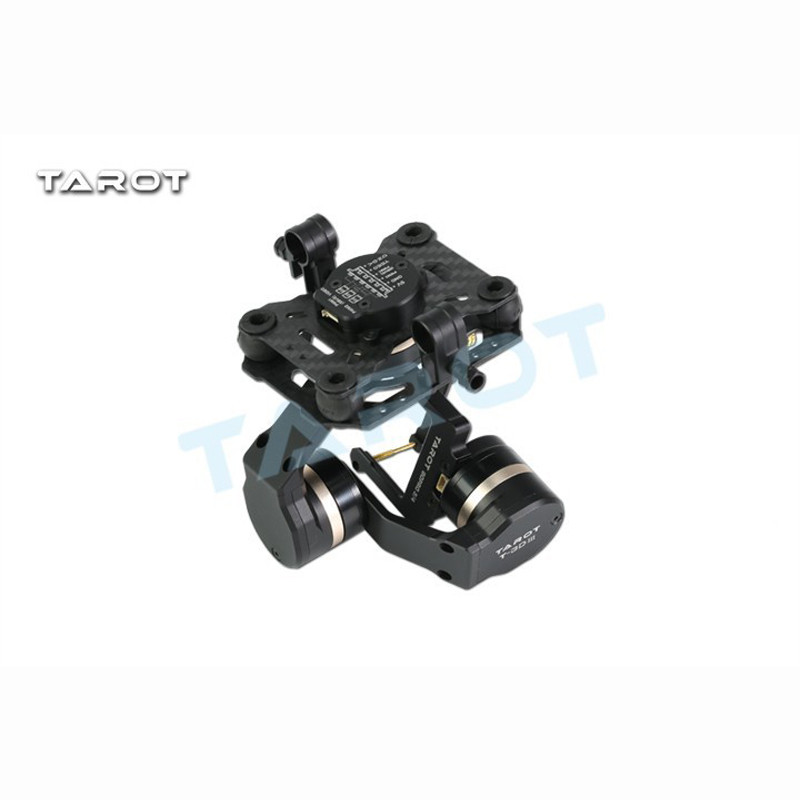 Tarot TL3T01 Update from T4 3D 3D Metal 3 axis Brushless Gimbal for FPV RC Drone Photography for GOPRO4 for Gopro3 for Gopro3+ - 5