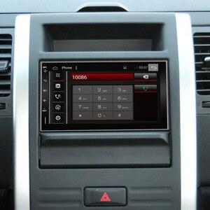 Image 2 - Eunavi 2 Din Автомобильный мультимедийный плеер GPS Радио Аудио Авто Универсальная навигация IPS сенсорный экран сабвуфер для Nissan Toyota WIFI