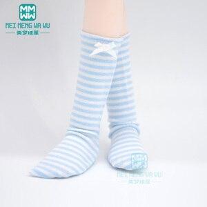 Аксессуары для кукол модные носки разные цвета для 1/6 1/4 1/3 BJD SD DD MSD YOSD кукла