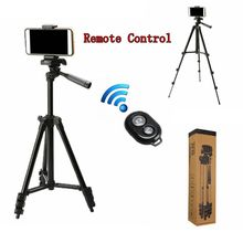 Portable Remote Control Camera Lightweight Travel Tripod set for Gopro Mobile Phone Stand Holder Tripod for iPhone Xiaomi HUAWEI