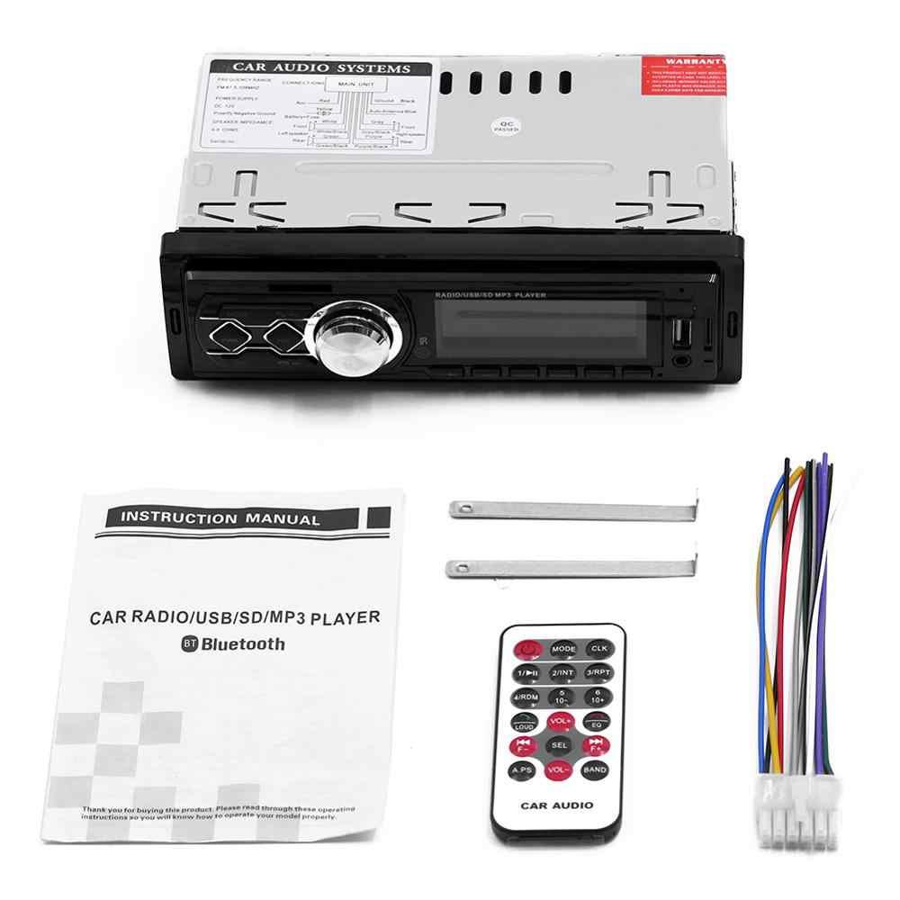 12V 1 Din auto radio Stereo Fernbedienung Digitale Bluetooth Audio Mp3 Player Fernbedienung autoradio USB/SD /AUX-IN