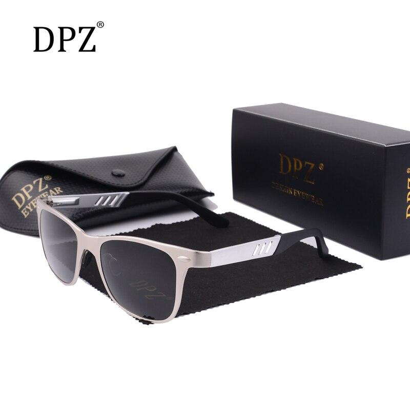 DPZ 2020 Aluminum Magnesium Men's Sunglasses Men Polarized Coating Glasses Oculos Male Eyewear Accessories For Men
