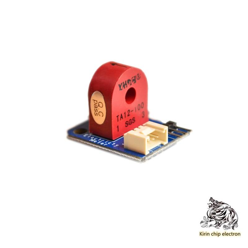 5 Pcs/ Lot TA12-100 AC Current Transformer Current Sensor Module 0-5A 3p/ 4p Interface Transmitte