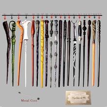 Baguettes magiques Hermione Snape Ginny jouets Colsplay métal fer Core Dumbledore baguettes magiques enfant pas de boîte avec cadeau