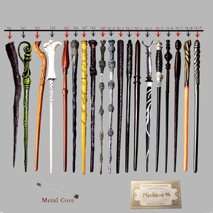 Image 1 - Magic Wands Hermione Snape Ginny Toys Colsplay Metal Iron Core Dumbledore Magical Wands Kid No Box with Gift