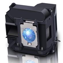 цена на Compatible for EPSON D6155W/D6250/EB-1840W/EB-1850W/EB-1860/EB-1870/EB-1880/EB-935W/EB-D6155W Projector Bulb ELPLP64 V13H010L64