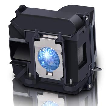 Compatible for EPSON D6155W/D6250/EB-1840W/EB-1850W/EB-1860/EB-1870/EB-1880/EB-935W/EB-D6155W Projector Bulb ELPLP64 V13H010L64 leran eb 9379 01