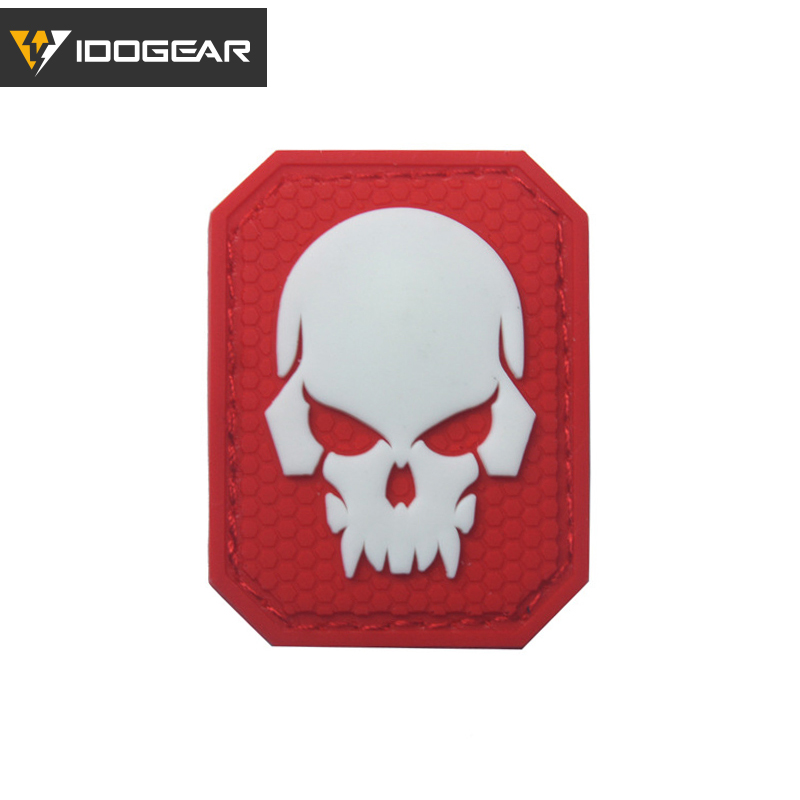 EMERSON Tactical PVC Patch Morale Patch Badge Combat Skull 3D Airsoft Military