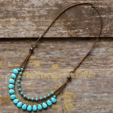 Chokers Necklaces for Women Semiprecious Stones Seed Beads Short Statement Necklace Luxury Beaded Necklaces Dropshipping