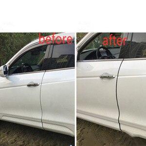 Image 2 - 1M DIY רכב דלת קצה רצועות גומי מגן סריטות רצועת דפוס איטום אנטי לשפשף רכב סטיילינג Accesorio עבור אוטומטי אוניברסלי