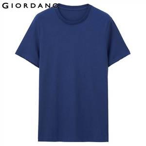 Image 5 - Giordano mężczyźni T koszula bawełniana z krótkim rękawem 3 pack Tshirt jednolita koszulka letnia oddychająca męska bluzka odzież Camiseta Masculina 01245504