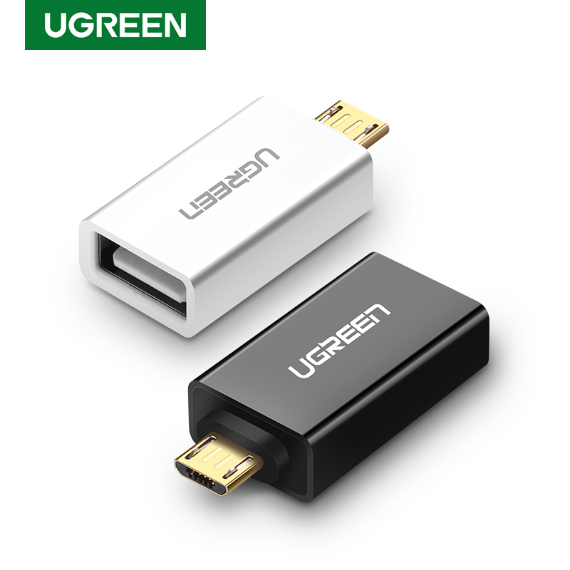 Ugreen OTG Cable Micro USB Male To USB 2.0 Female OTG Adapter Converter For Samsung Galaxy S7 Galaxy Note 5 Galaxy Tab 3 Tablet