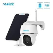 Reolink 1080p esterna della batteria della macchina fotografica wifi Pan & Tilt a distanza di accesso solar powered Argus PT e pannello Solare