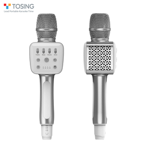 Image 2 - TOSING V2 New product Versatile high quality wireless karaoke Birthday Speaker portable handheld microphone for home theatre ktv