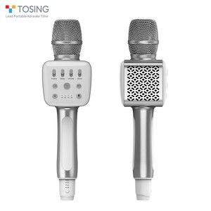 Image 2 - Tosing v2 novo produto versátil de alta qualidade sem fio karaoke aniversário alto falante portátil handheld microfone para cinema em casa ktv